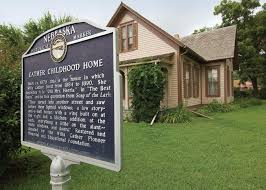 story and a half house willa cather childhood home red cloud nebraska america u0027s most