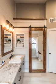 bathroom barn door in house bars old farmhouse interior kitchen