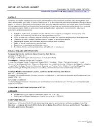 How To List Real Estate License On Resume Paralegal Resume Awesome Collection Of Sample Entry Level