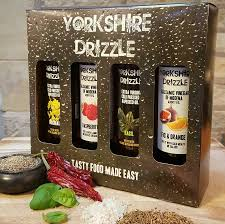 food gift sets rapeseed and balsamic vinegar gift set by drizzle