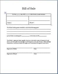 sle resume word doc format pdf printable sle sle bill of sale form projects to try