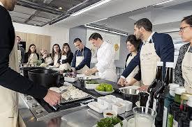 cours de cuisine avec chef étoilé ecole de cuisine ferrandi restaurant beautiful luxury ecole