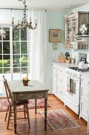 Cottage Chic Kitchen - benjamin moore shabby chic kitchen shabby chic style with sliding