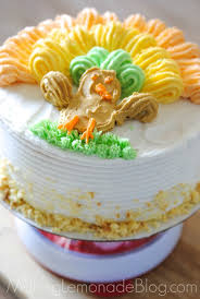 cake decorating made easy thanksgiving cake idea lemonade
