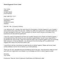 Cover Letter Enclosure Resume Cover Letter Design Printable Dental Hygiene Cover Letter Sample