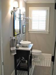 small guest bathroom ideas bathroom small gray guest bathroom ideas with black wooden console