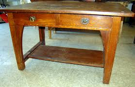 Arts And Crafts Sofa Table by Gamage Antiques Your Source For Antiques Appraisals Auctions