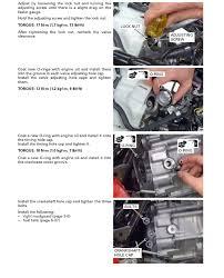 valve adjustment procedures rancher 420 all honda foreman forums