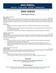 sample resume for teller position bank teller cover letter example