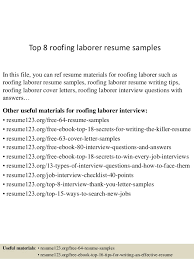 General Labor Resume Examples by Resume Template General Labourer
