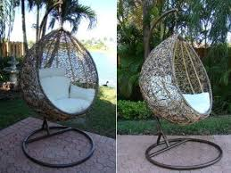 Rattan Swing Bench The Trully Outdoor Wicker Swing Chair