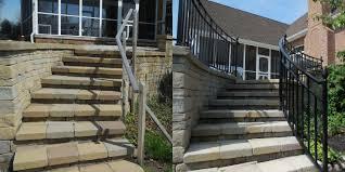 Exterior Stair Handrail Kits Exterior Stair Handrail Home Design Ideas