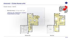 cluster home floor plans floor plans villanova dubailand