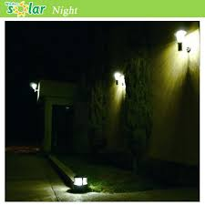 wireless led outdoor lights stainless steel garden lights outdoor lighting wall l with solar