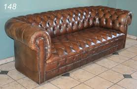 Chesterfield Tufted Leather Sofa Impressive Tufted Brown Leather Sofa 148 Brown Leather