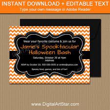 halloween invitation template halloween party