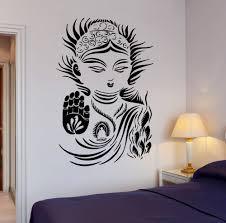Decoration Star Wall Decals Home by Aliexpress Com Buy Buddhism Yoga Meditation Wall Sticker