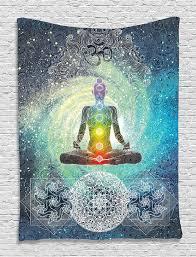 hippie home decor uk indian tapestry yoga decor mandala zen wall meditation batik