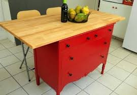 Make A Kitchen Island Kitchen Island Made Out Of Dresser Kitchen Island Out Of