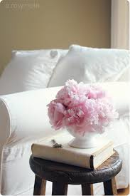 Pink Peonies Bedroom - a rosy note a summer look for the living room