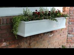 How To Make Planter Boxes by How To Build A Flower Window Box By Jon Peters Youtube