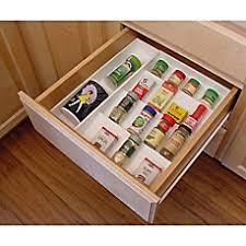 Spice Rack In A Drawer Spice Racks Containers Shelves U0026 Stacks Bed Bath U0026 Beyond