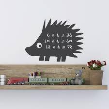 mini hedgehog chalkboard wall sticker for wildlife pinterest mini hedgehog chalkboard wall sticker