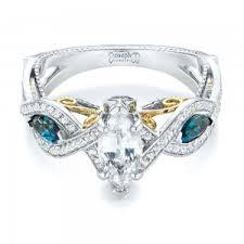 unique engagement ring unique engagement rings 2017 wedding ideas magazine weddings