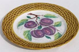 ceramic platter antique and vintage platters
