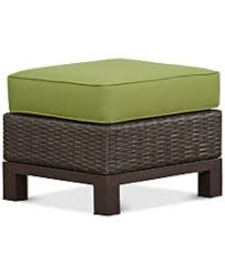 Patio Chairs With Ottomans Ottomans Outdoor Patio Furniture Macy U0027s