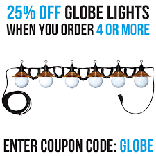Shades Of Light Coupon Code Globe Lighting Strands With Copper Shades