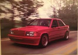 mercedes 190e amg for sale mercedes 190e amg 145hp wide out of print car poster ebay