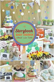 baby shower theme storybook baby shower ideas for boys baby shower