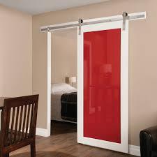 Erias Home Designs Straight Strap Sliding Barn Door Hardware - Erias home designs
