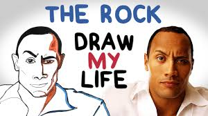 the biography of dwayne johnson dwayne the rock johnson draw my life youtube