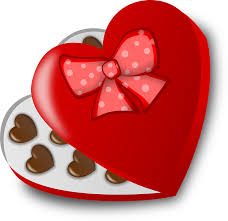 chocolate heart candy free vector graphic box candy chocolate heart free