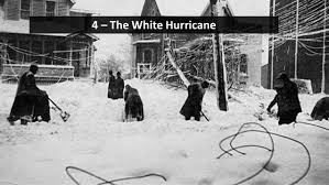 Worst Blizzard In History by 5 Of The Worst Blizzards In U S History