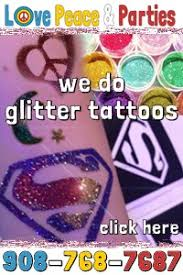 glitter tattoos nj glitter tattoo parties nj