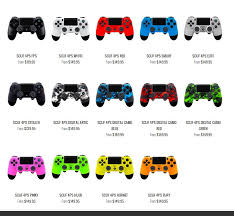 how to change the color of ps4 controller light new scuf gaming ps4 controller finally available for pre order 13