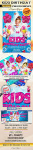 kids birthday party u2013 flyer psd template facebook cover u2013 by