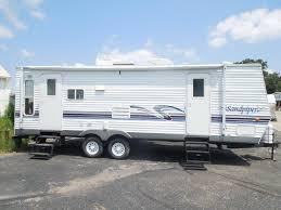 sandpiper travel trailer floor plans 2005 forest river sandpiper 27rlss travel trailer rockford mi