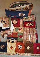 nojo my little mvp 6 piece crib bedding set sports theme comforter