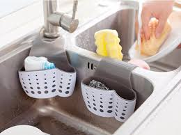 Sided Kitchen Sink Sponge Holder ShopyPlace - Kitchen sink sponge holder
