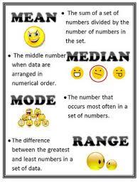 mean mode median and range worksheet worksheets
