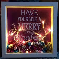 merry christmas u0027 light frame krafty