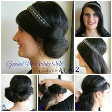 20shair tutorial 1920s inspired faux bob updo hairstyle tutorial video