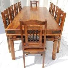 wood dining room sets large dining room tables seats 10 foter