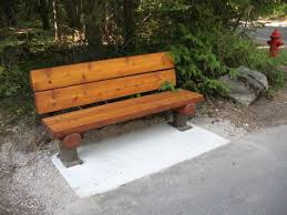 Rustic Log Benches - ordinary rustic park bench part 10 rustic park benches home