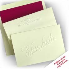 embossed stationery embossed stationery embossed monogrammed products