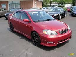 2005 impulse red toyota corolla xrs 29483833 gtcarlot com car